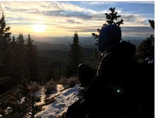 Nicholas Climbing pikes peak